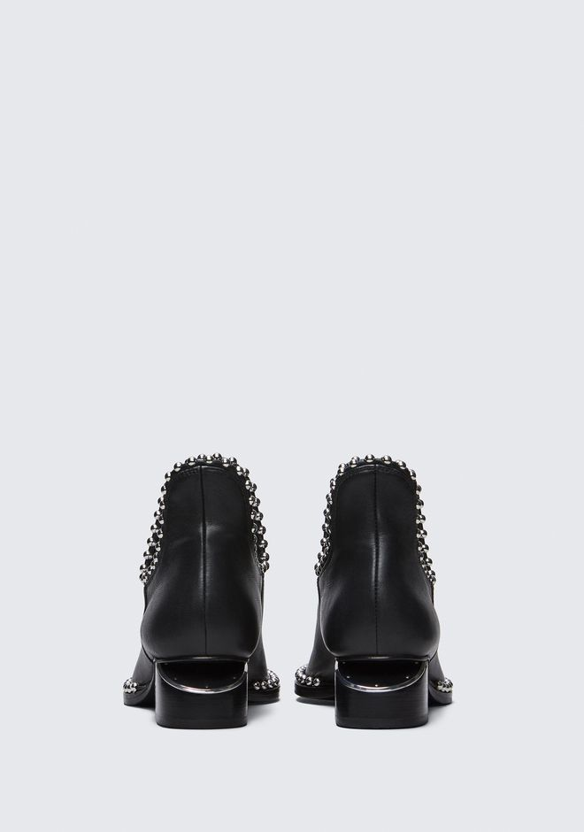 ALEXANDER WANG BALL STUD KORI OXFORD WITH RHODIUM BOOTS Adult 12_n_d