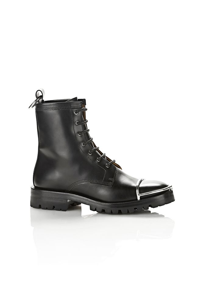 ALEXANDER WANG LYNDON SHEARLING BOOT BOOTS Adult 12_n_f
