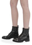 ALEXANDER WANG LYNDON SHEARLING BOOT BOOTS Adult 8_n_r