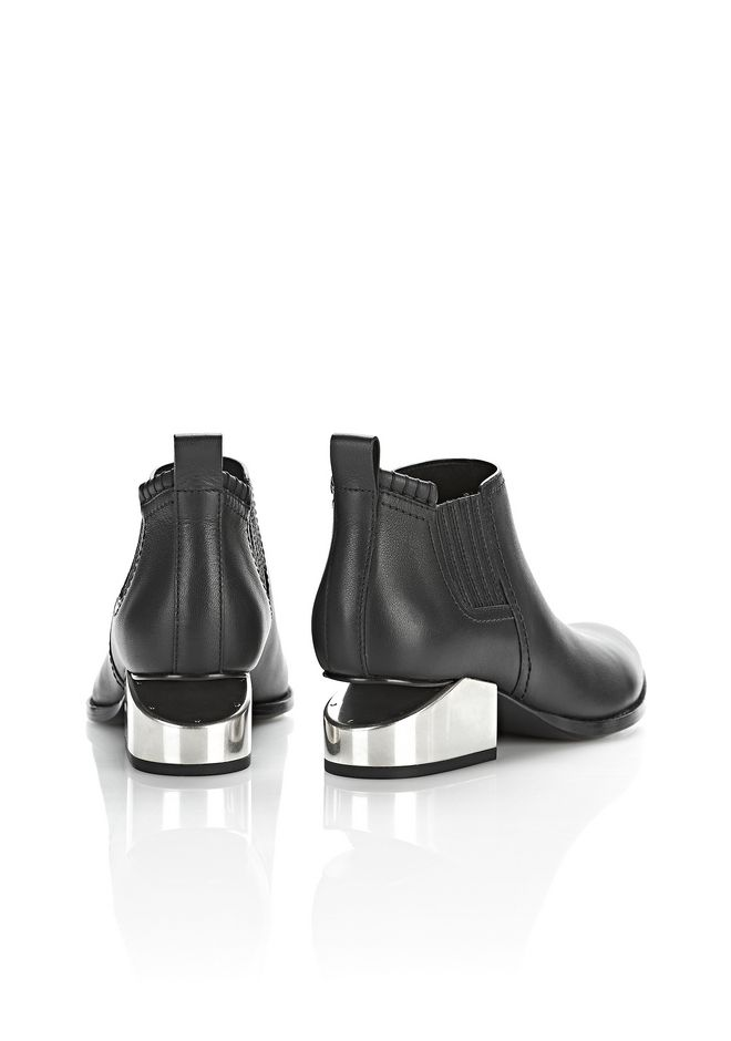 ALEXANDER WANG KORI OXFORD WITH SILVER METAL HEEL Ankle boots Adult 12_n_e