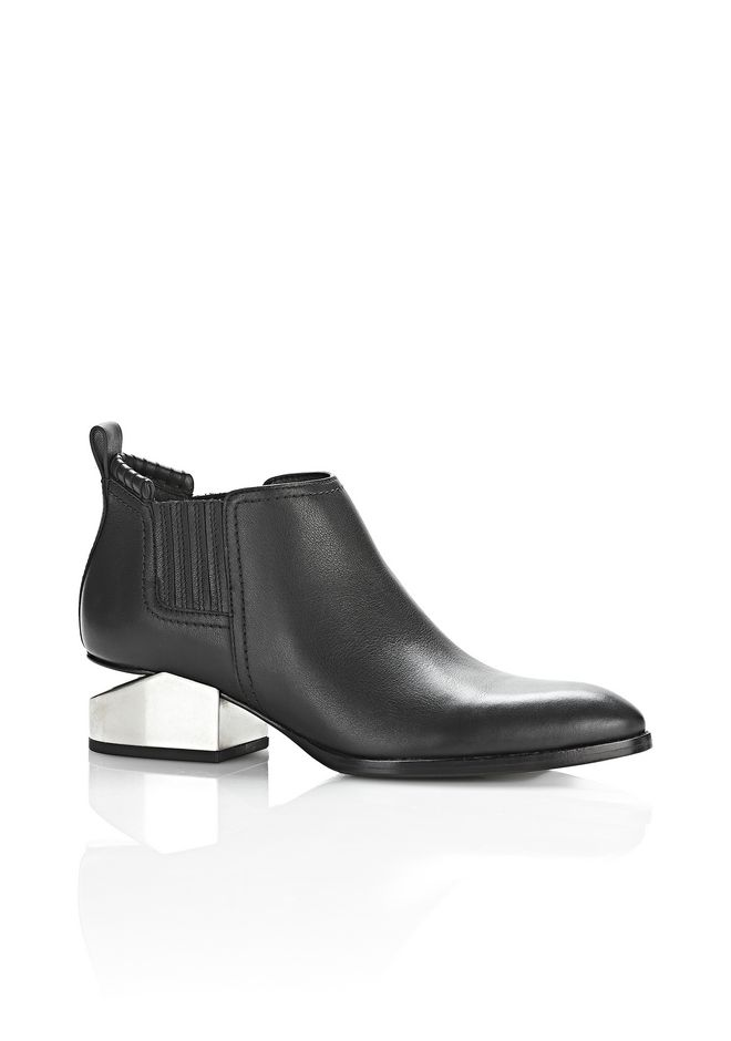 ALEXANDER WANG KORI OXFORD WITH SILVER METAL HEEL Ankle boots Adult 12_n_f