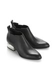ALEXANDER WANG KORI OXFORD WITH SILVER METAL HEEL Ankle boots Adult 8_n_a