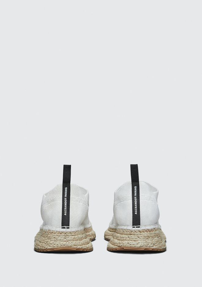 ALEXANDER WANG DYLAN ESPADRILLE CHAUSSURES PLATES Adult 12_n_d
