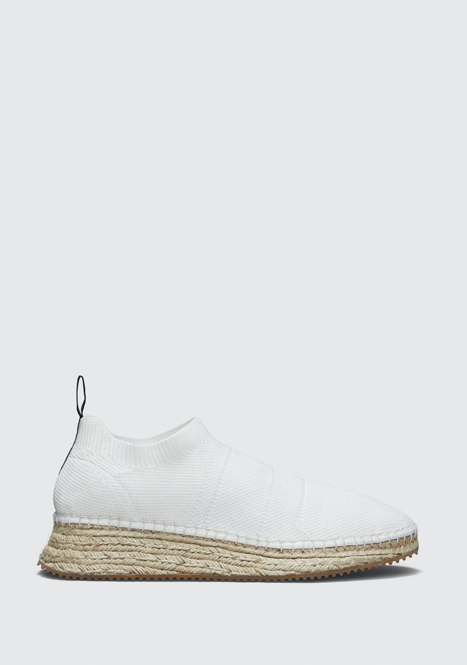 ALEXANDER WANG DYLAN ESPADRILLE CHAUSSURES PLATES Adult 12_n_f
