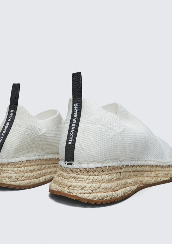 ALEXANDER WANG DYLAN ESPADRILLE CHAUSSURES PLATES Adult 12_n_r