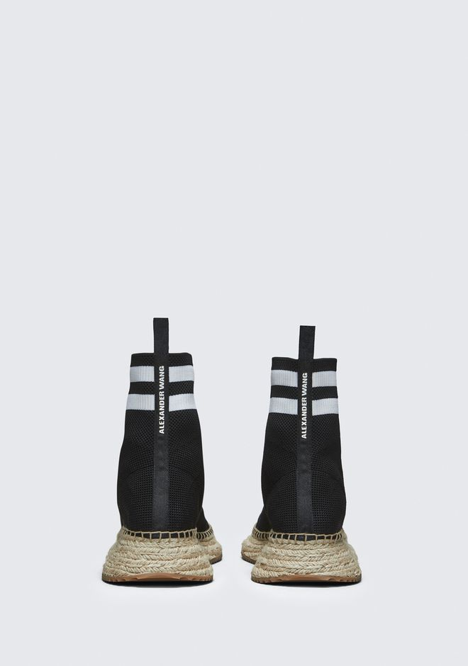 ALEXANDER WANG DYLAN ESPADRILLE BOOTIE CHAUSSURES PLATES Adult 12_n_d