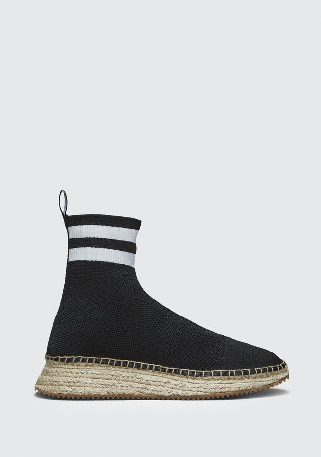 ALEXANDER WANG DYLAN ESPADRILLE BOOTIE CHAUSSURES PLATES Adult 12_n_f