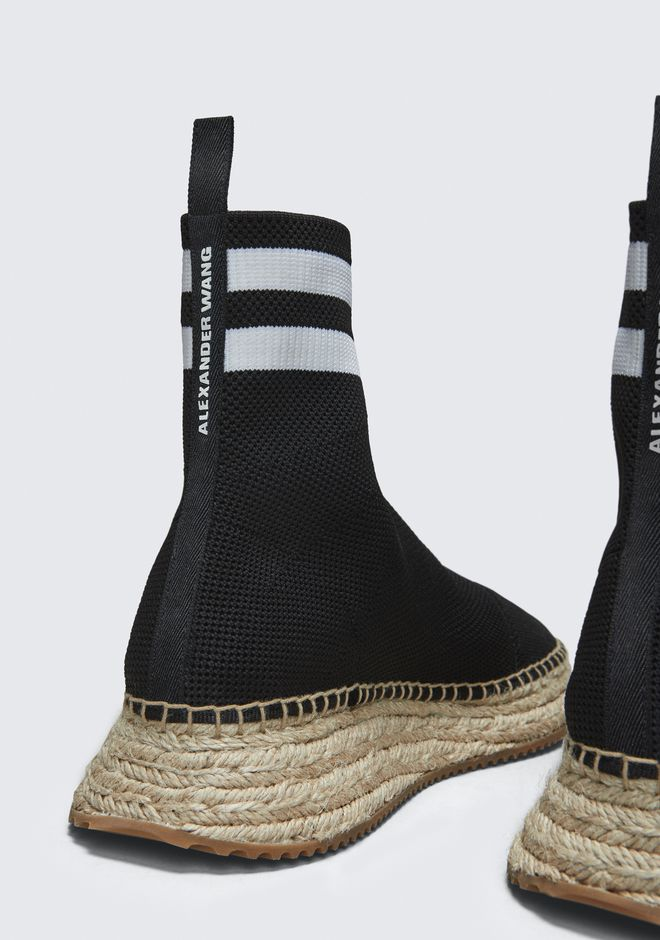 ALEXANDER WANG DYLAN ESPADRILLE BOOTIE CHAUSSURES PLATES Adult 12_n_r