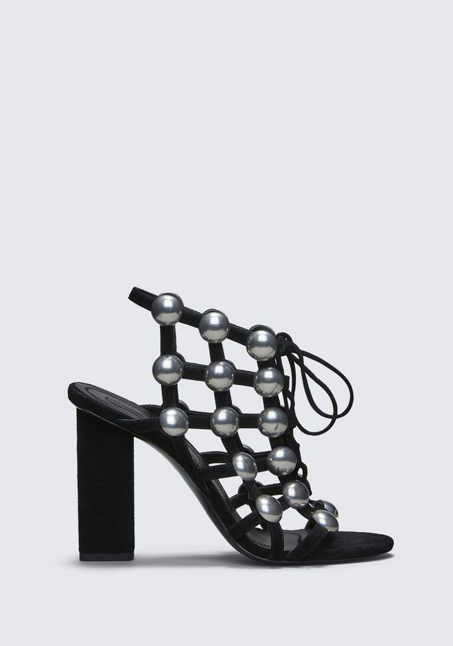 ALEXANDER WANG RUBIE LACE-UP SANDAL Heels Adult 12_n_f