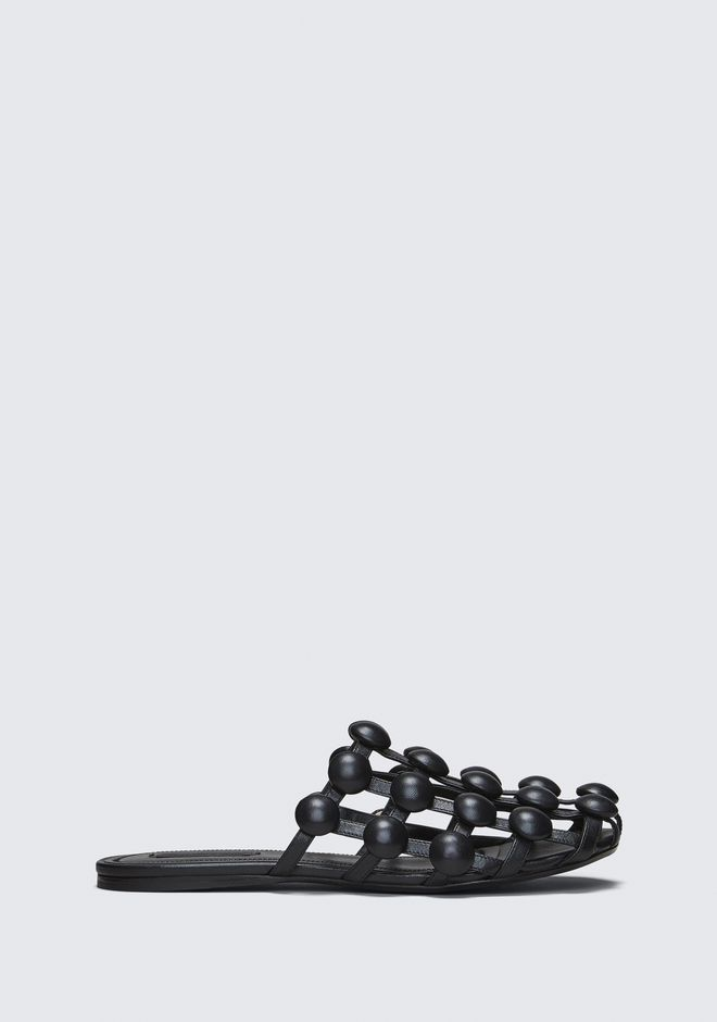 Velvet Amelia Slippers - IT37.5 / Black Alexander Wang