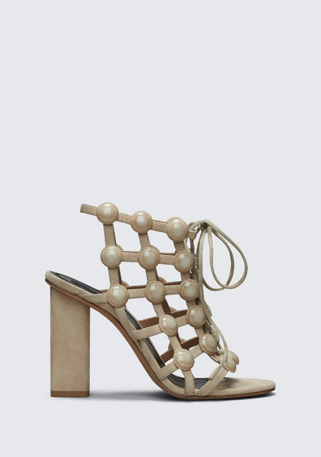 ALEXANDER WANG Heels Women RUBIE LACE UP SANDAL