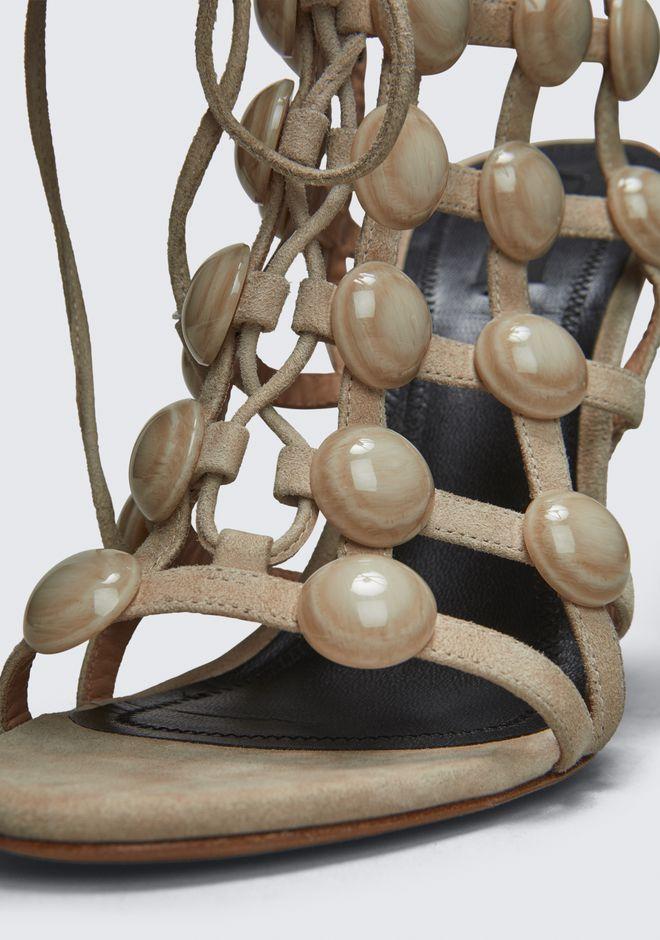 ALEXANDER WANG RUBIE LACE UP SANDAL Heels Adult 12_n_r