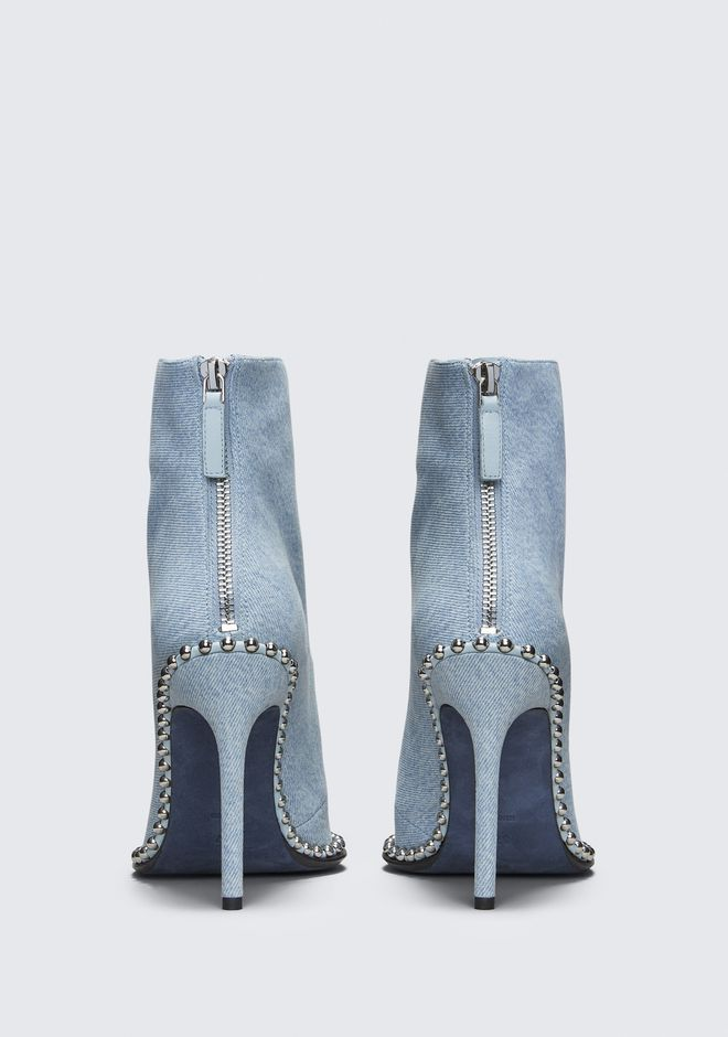 ALEXANDER WANG ERI DENIM BOOT Heels Adult 12_n_d