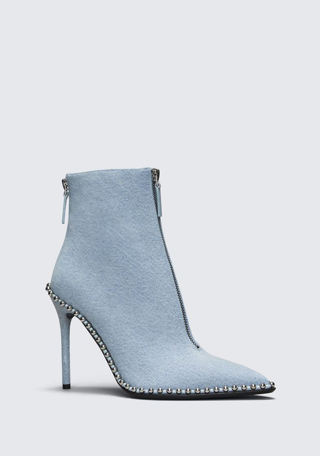 ALEXANDER WANG ERI DENIM BOOT Heels Adult 12_n_f