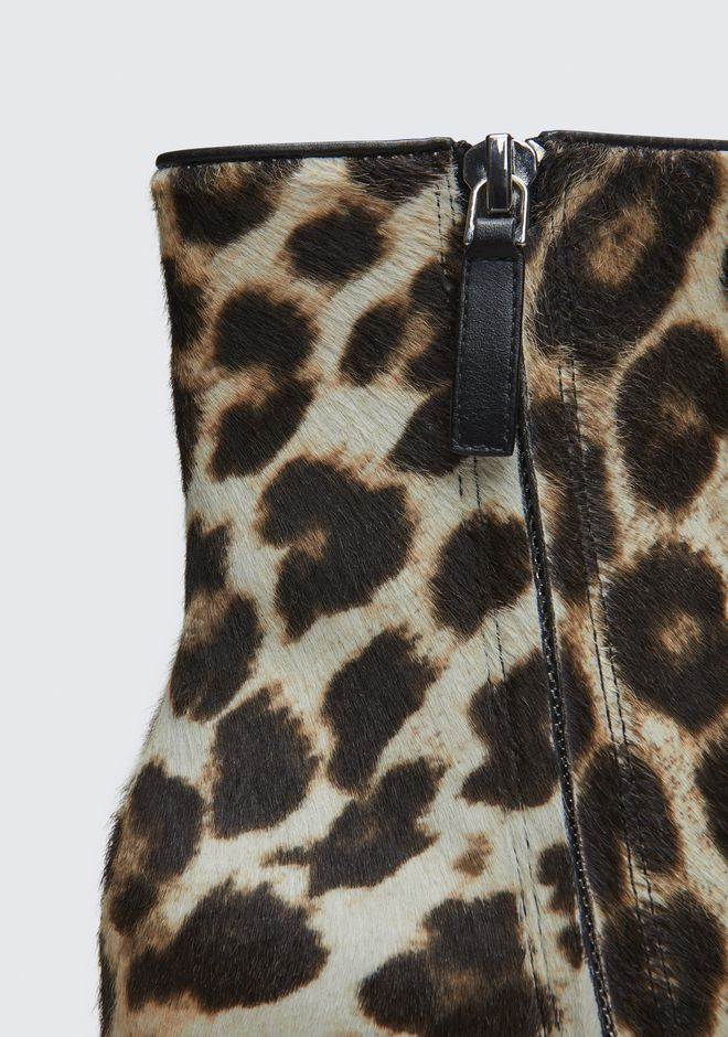 ALEXANDER WANG JUDE LEOPARD BOOTIE STIEFEL Adult 12_n_a