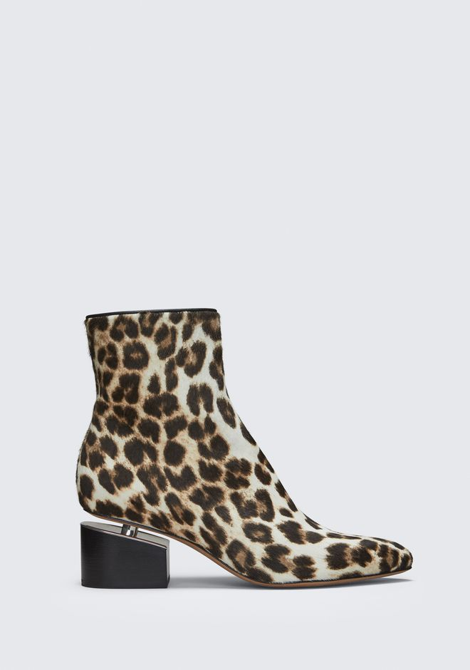 ALEXANDER WANG JUDE LEOPARD BOOTIE BOTTES Adult 12_n_f