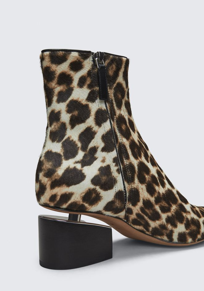 ALEXANDER WANG JUDE LEOPARD BOOTIE BOTTES Adult 12_n_r