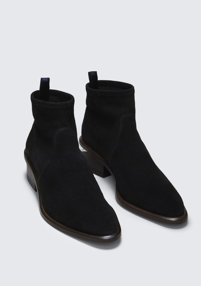 ALEXANDER WANG KORI SUEDE BOOTIE BOTTES Adult 12_n_a