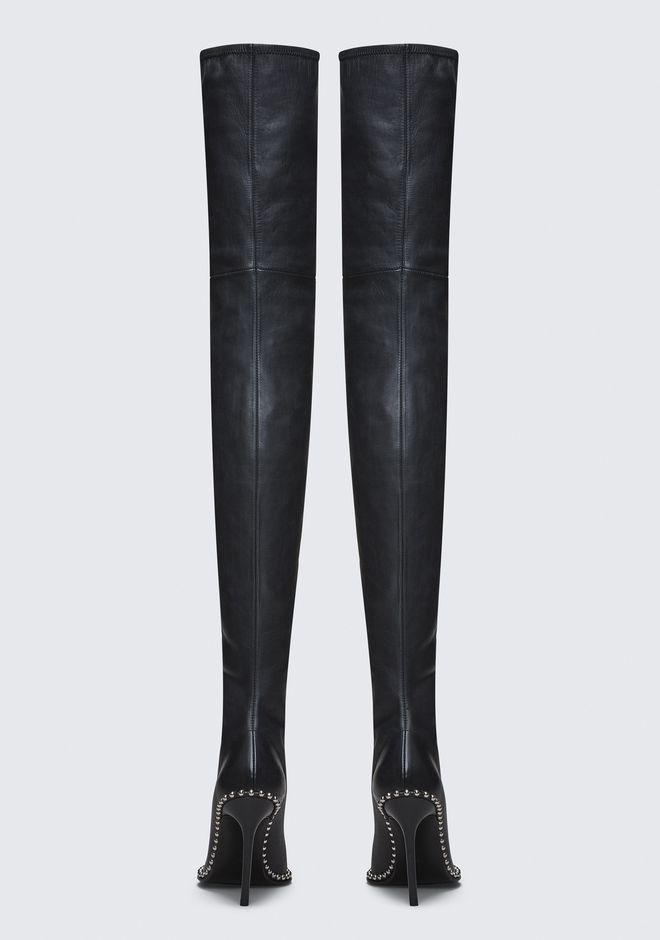 ALEXANDER WANG ERI THIGH HIGH BOOT BOOTS Adult 12_n_d