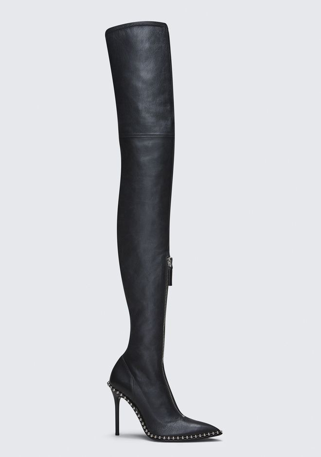 ALEXANDER WANG ERI THIGH HIGH BOOT BOOTS Adult 12_n_f