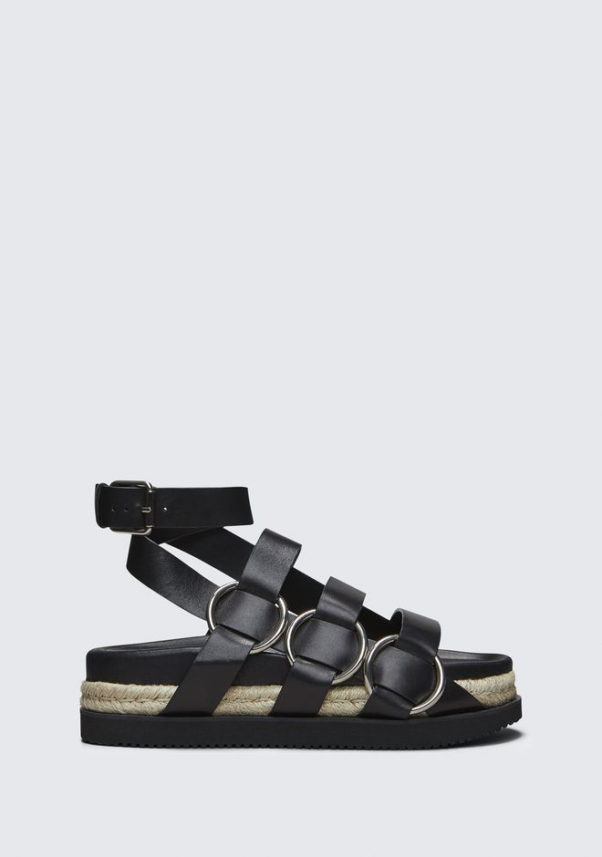 ALEXANDER WANG new-arrivals-shoes-woman BESS ESPADRILLE SANDAL