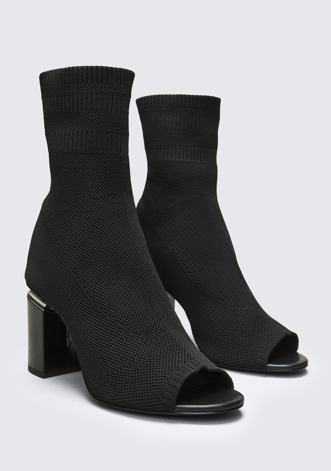 ALEXANDER WANG CAT BOOTIE BOTTES Adult 12_n_r