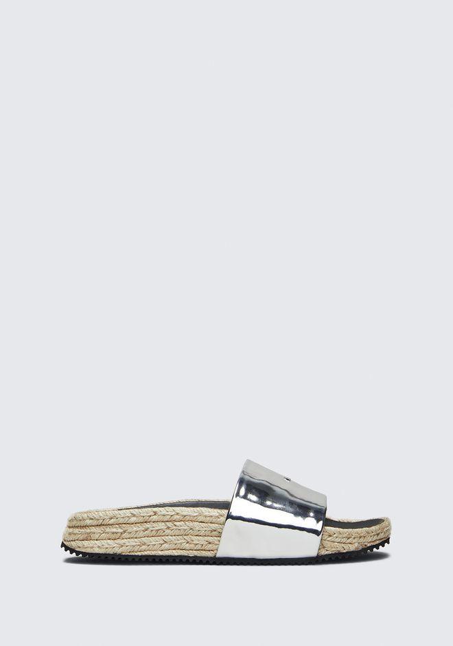 ALEXANDER WANG sandals SUKI ESPADRILLE SLIDE