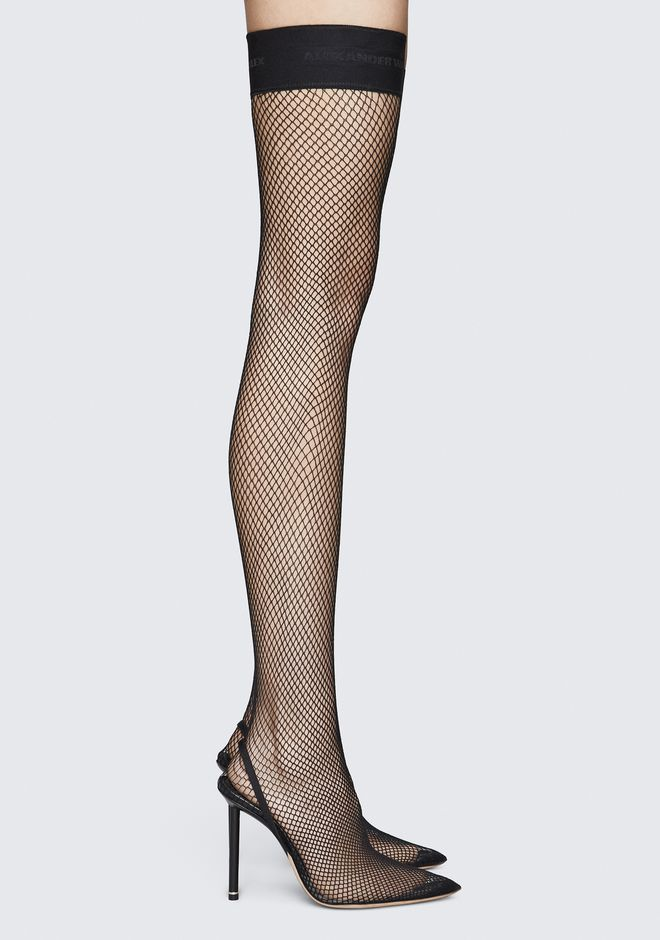 ALEXANDER WANG CLEO THIGH HIGH HEELS 高跟单鞋 Adult 12_n_f