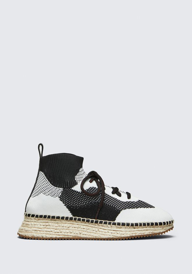 ALEXANDER WANG new-arrivals-shoes-woman DAKOTA KNIT ESPADRILLE