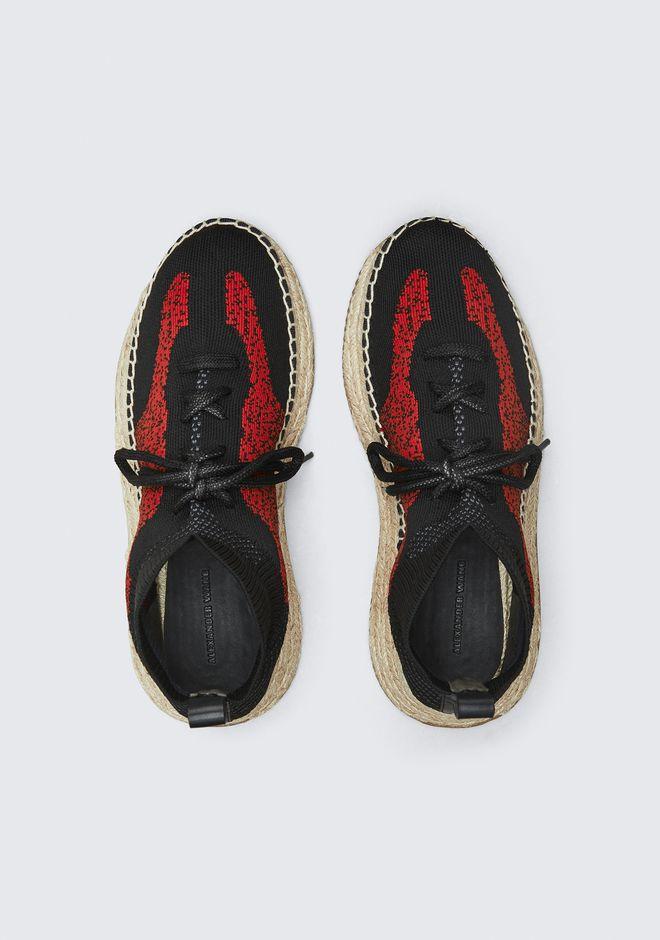 ALEXANDER WANG DAKOTA KNIT ESPADRILLE 平底鞋 Adult 12_n_e