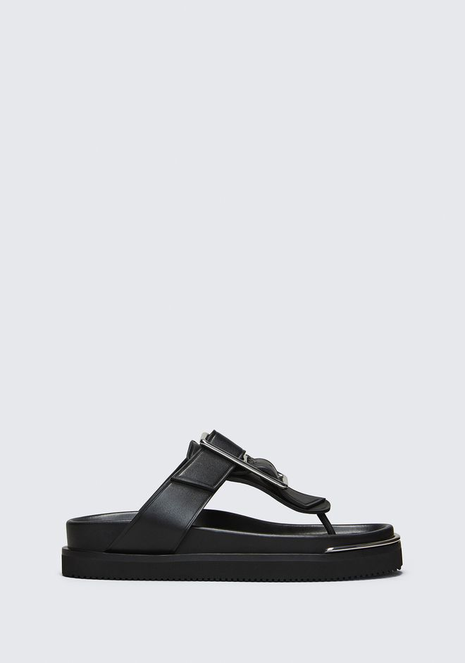 ALEXANDER WANG CORIN SANDAL  CHAUSSURES PLATES Adult 12_n_f