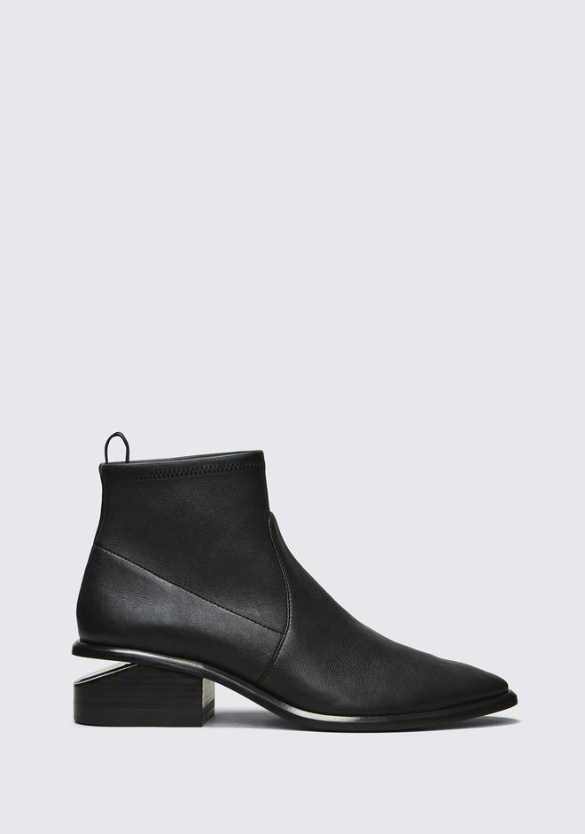 ALEXANDER WANG KORI STRETCH BOOTIE BOTTES Adult 12_n_f