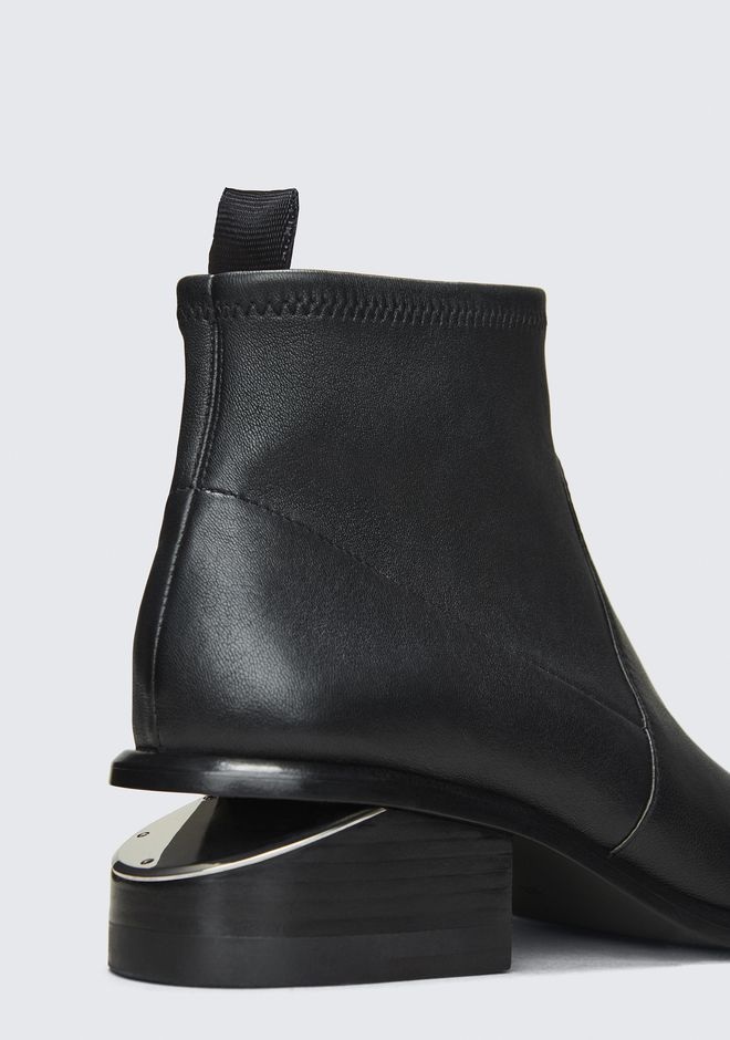 ALEXANDER WANG KORI STRETCH BOOTIE BOOTS Adult 12_n_r