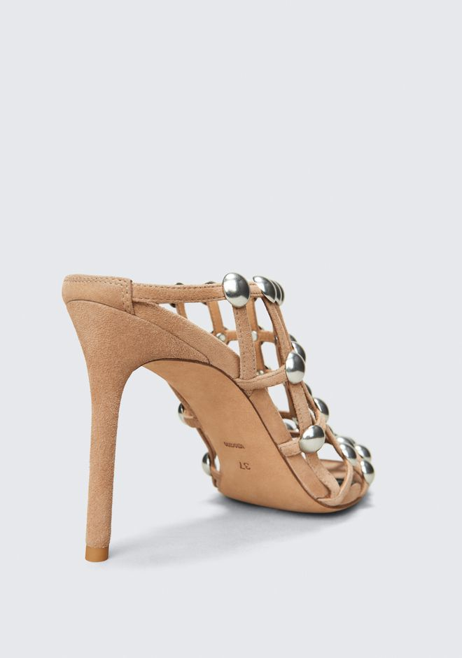 ALEXANDER WANG SADIE HIGH HEEL SANDAL SANDALS Adult 12_n_r