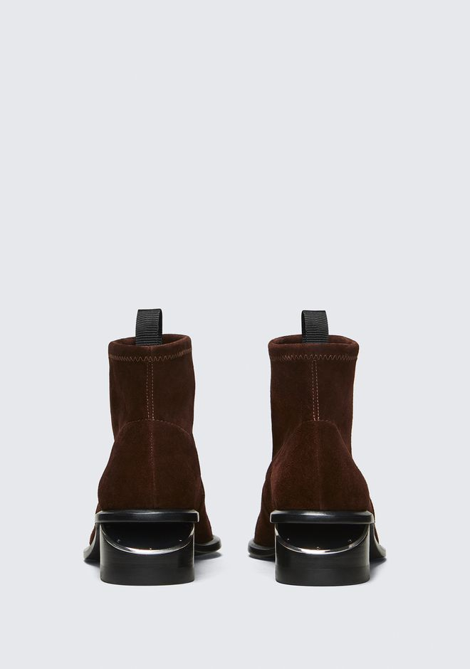 ALEXANDER WANG KORI STRETCH BOOTIE  BOTTES Adult 12_n_d