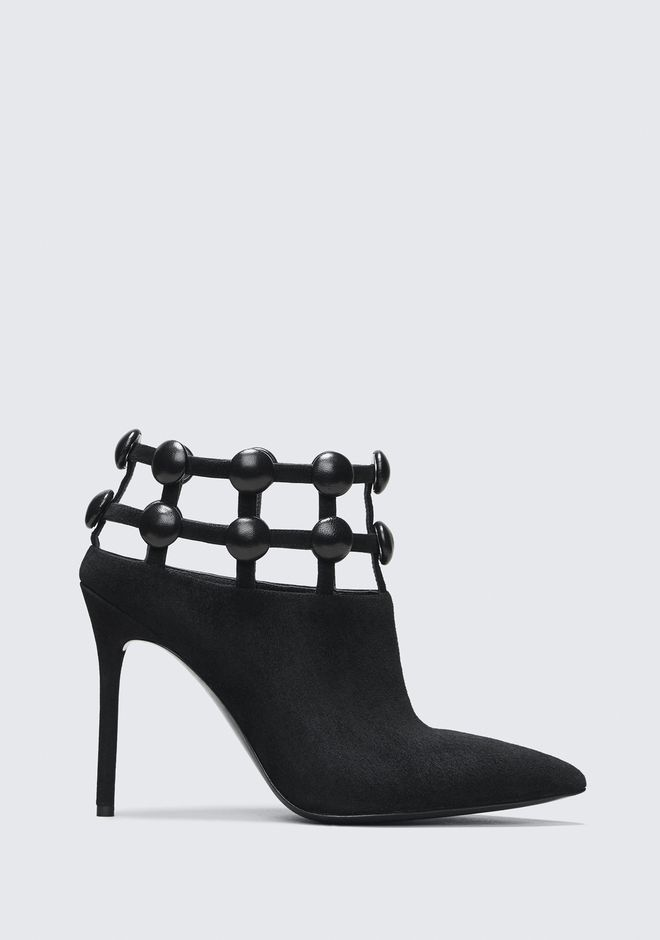 ALEXANDER WANG TINA HIGH HEEL BOOTIE BOTTES Adult 12_n_f