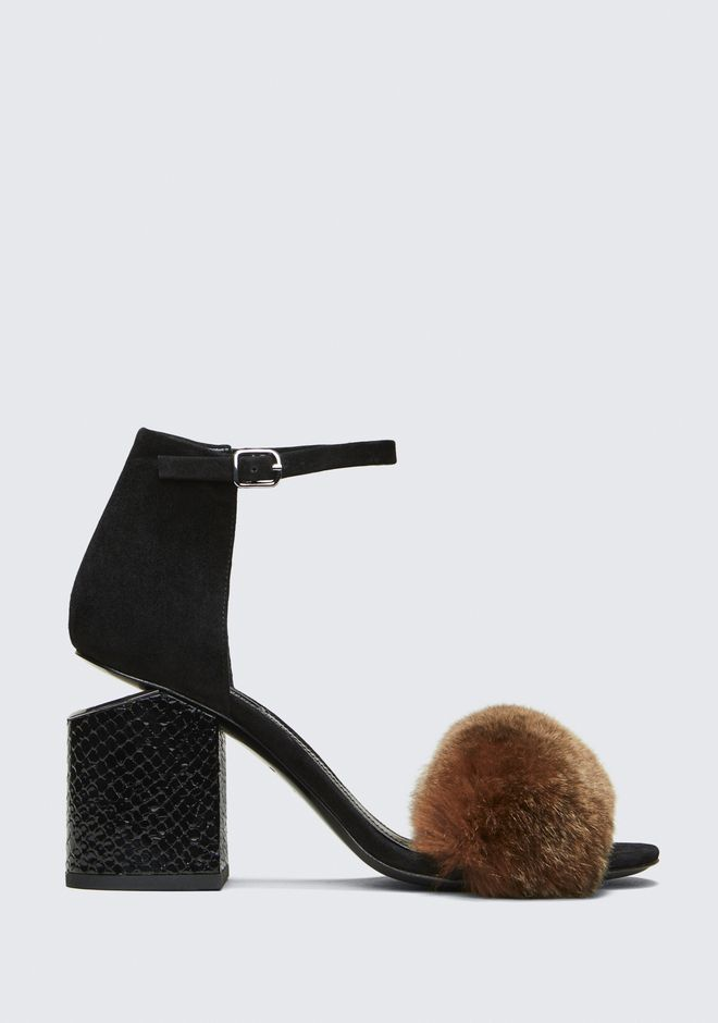 ALEXANDER WANG new-arrivals-shoes-woman ABBY MID HEEL SANDAL