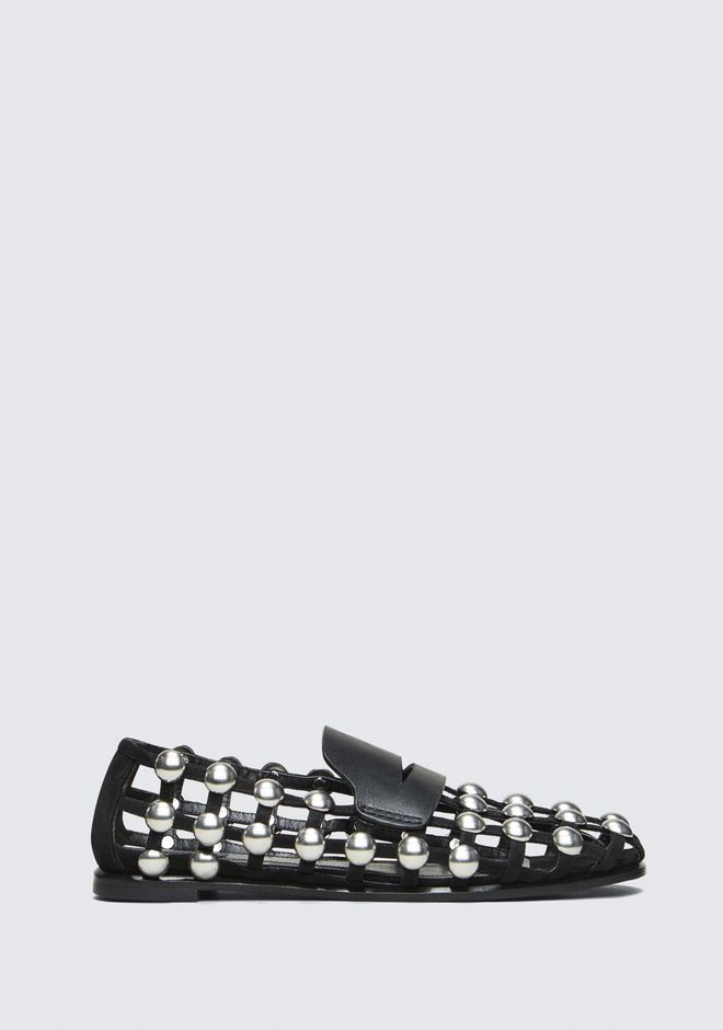 ALEXANDER WANG SAM LOAFER FLATS Adult 12_n_f