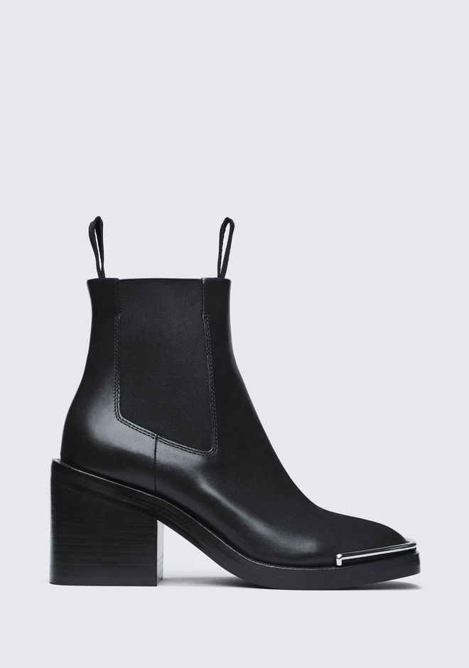 ALEXANDER WANG HAILEY MID HEEL BOOT BOOTS Adult 12_n_f