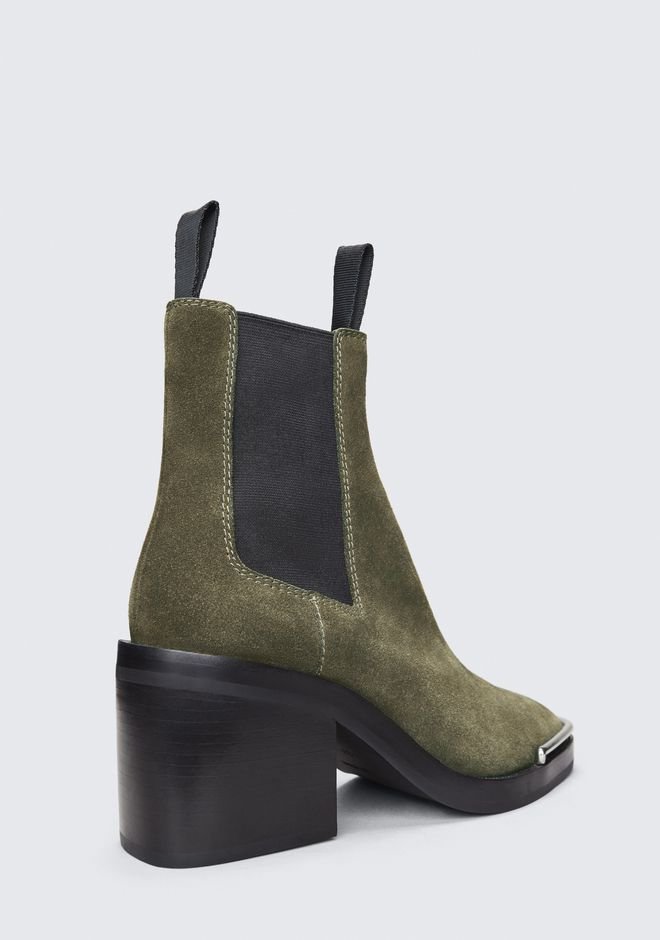 ALEXANDER WANG SUEDE HAILEY BOOT BOOTS Adult 12_n_r