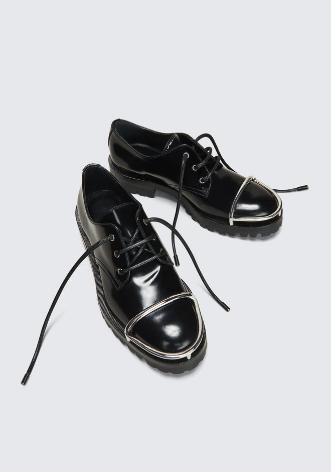 ALEXANDER WANG LYNDON LOW OXFORD 레이스업 슈즈 Adult 12_n_r