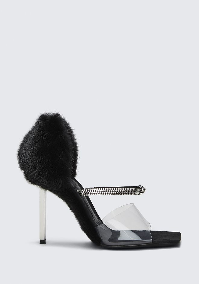 ALEXANDER WANG new-arrivals-shoes-woman RORI FUR SANDAL