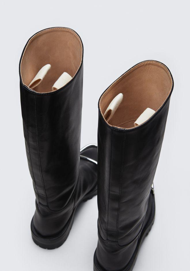 ALEXANDER WANG BOBBI FLAT BOOT BOOTS Adult 12_n_a