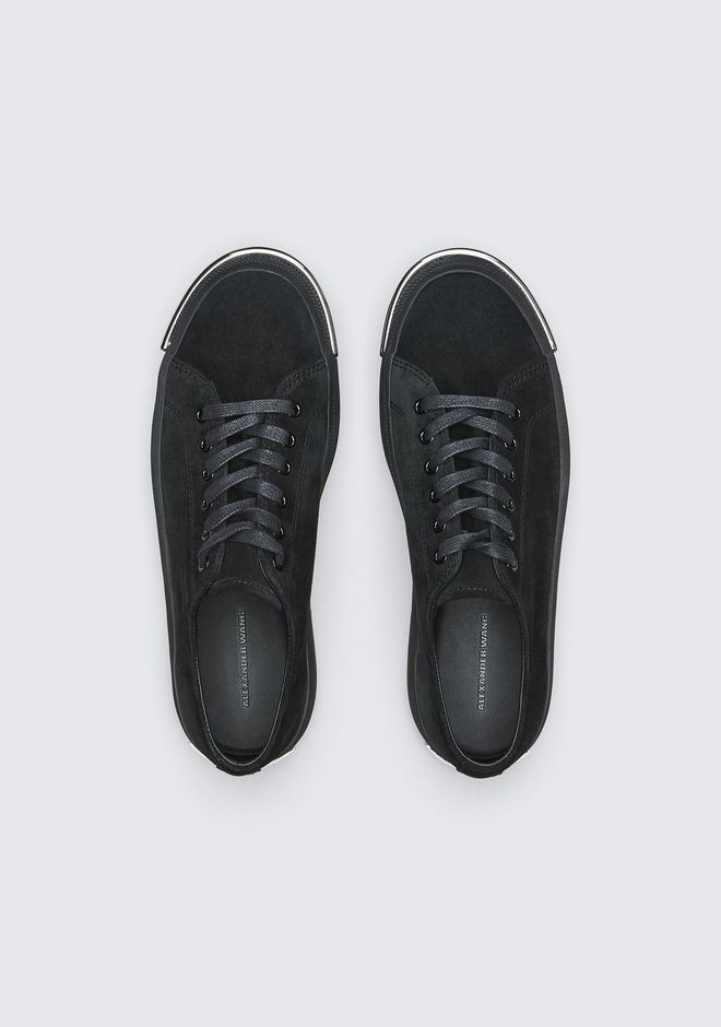 ALEXANDER WANG PIA LOW SNEAKER CHAUSSURES PLATES Adult 12_n_e