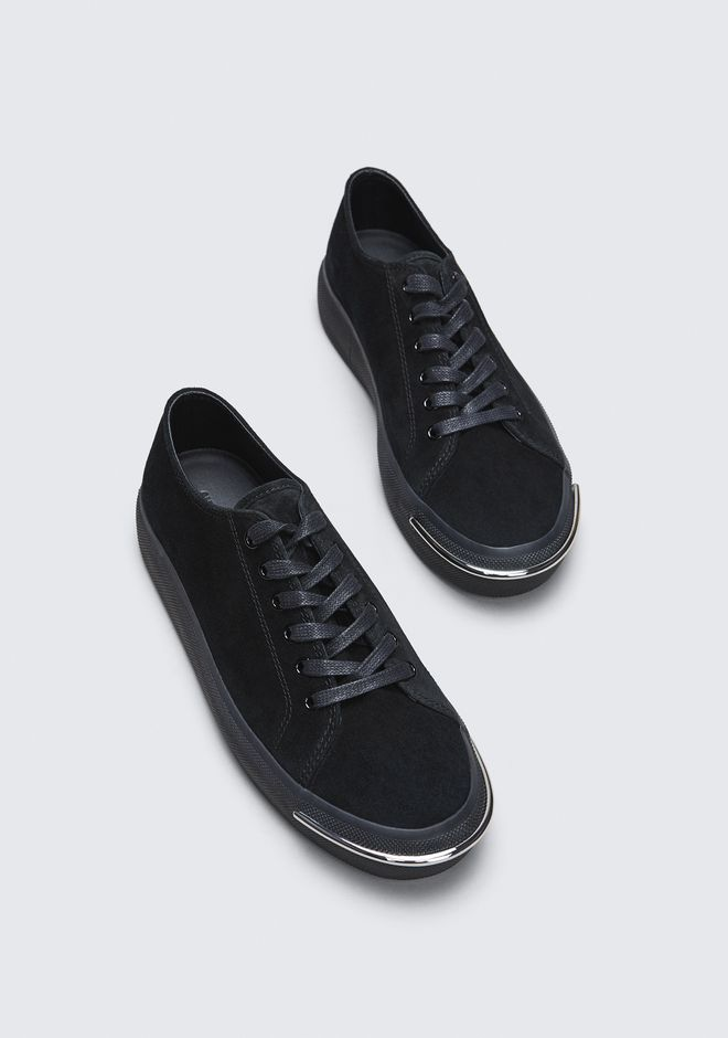 ALEXANDER WANG PIA LOW SNEAKER CHAUSSURES PLATES Adult 12_n_r