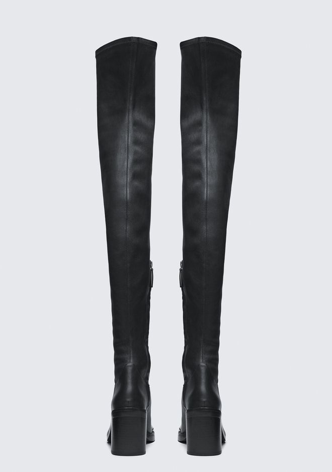 ALEXANDER WANG HAILEY THIGH HIGH BOOT BOOTS Adult 12_n_d