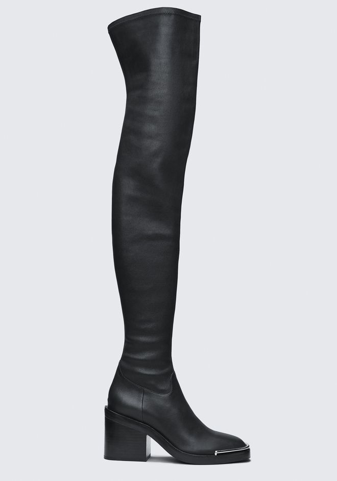 ALEXANDER WANG HAILEY THIGH HIGH BOOT BOOTS Adult 12_n_f