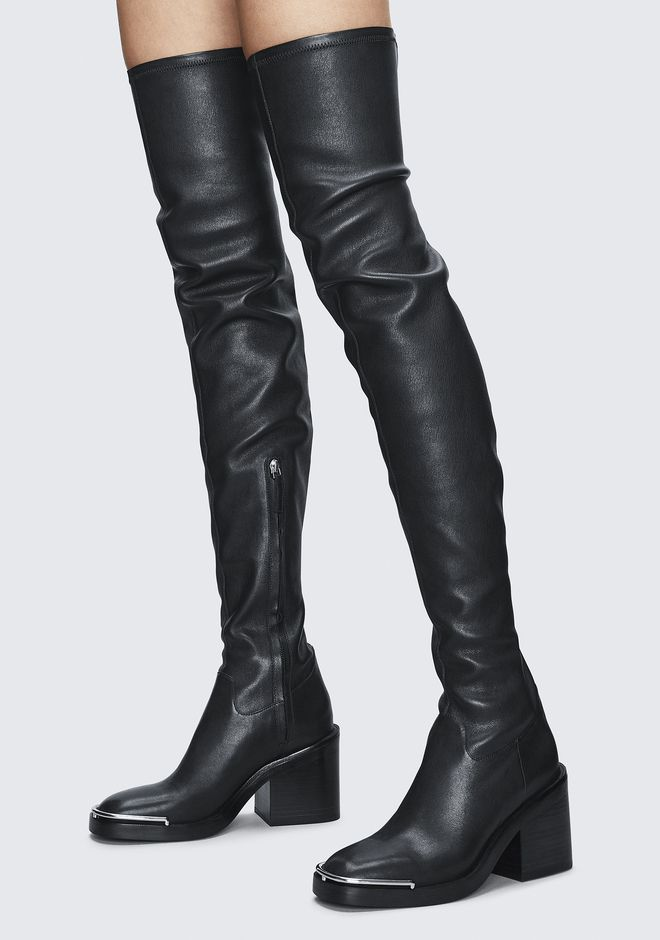 ALEXANDER WANG HAILEY THIGH HIGH BOOT BOOTS Adult 12_n_r