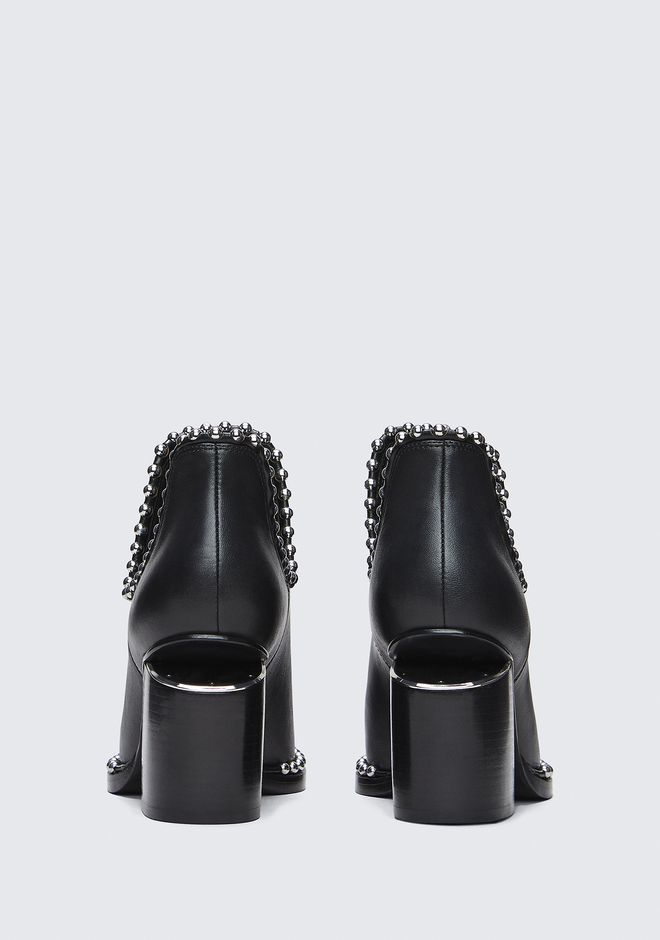 ALEXANDER WANG BALL STUD GABI CUT OUT BOOTS Adult 12_n_d