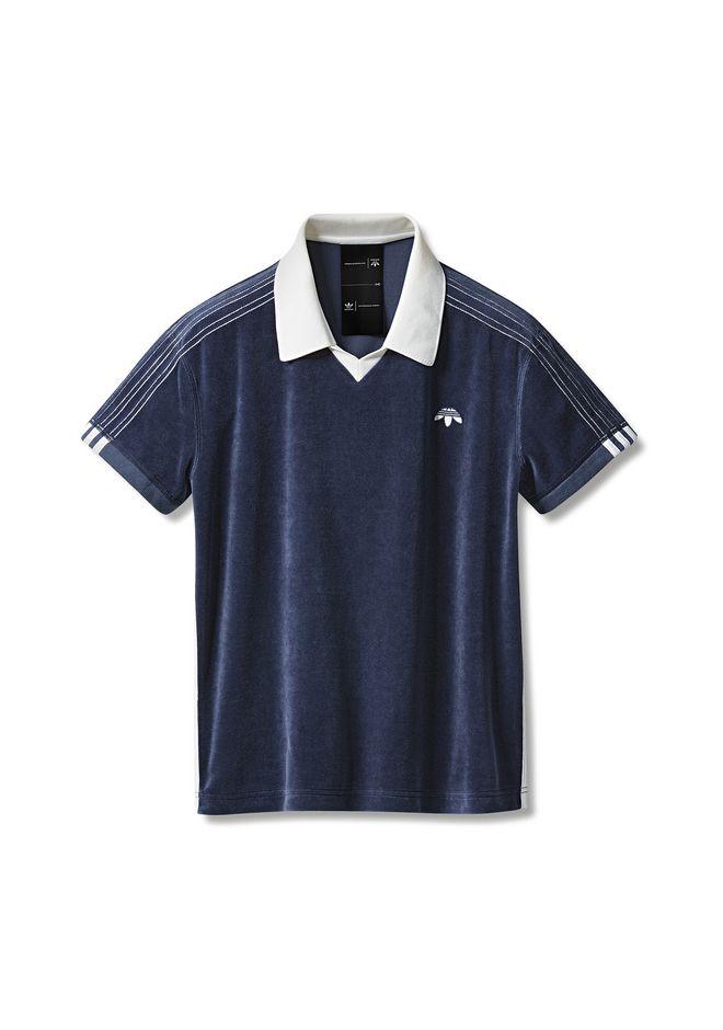 Adidas Originals By Aw Velour Polo